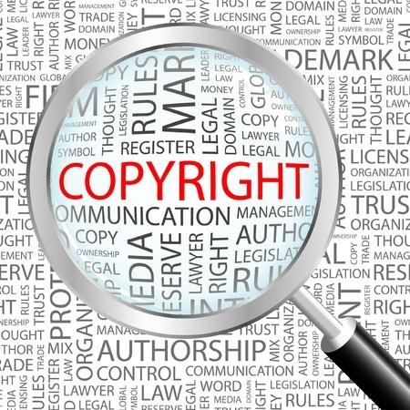 Grafik Copyright für Urheberrecht